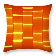 Burnt Sienna Throw Pillow