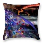 Burst Of Color Throw Pillow