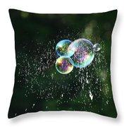 Bursting In Air Throw Pillow