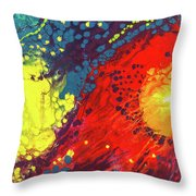 Bursting Recognition Throw Pillow