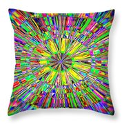Bursting With Pride Throw Pillow
