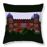 Burton Agnes Hall Throw Pillow
