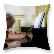 Burton Greene 2 Throw Pillow