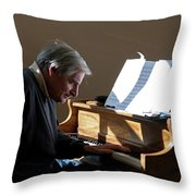 Burton Greene Throw Pillow