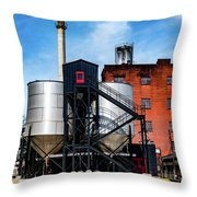 Burton Tanks Throw Pillow