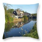 Burtons Mill Throw Pillow