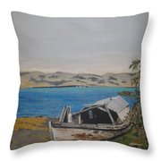 Burwash Landing Yukon Throw Pillow