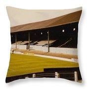 Bury - Gigg Lane - North Stand 1 - 1969 Throw Pillow
