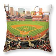 Busch Before The Game Throw Pillow