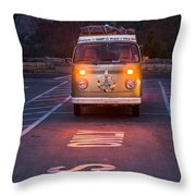 Buses Only Throw Pillow