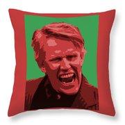 Busey Throw Pillow