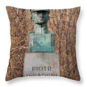 Bush Behind Piotr Wysocki Bust Throw Pillow