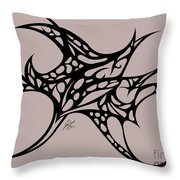 Bushal Of Thorns Throw Pillow