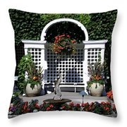 Bushart Gardens Throw Pillow