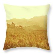 Bushland Of Western Dynamics Throw Pillow