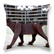 Bushnell Lion Throw Pillow