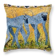 Bushveld Bliss Throw Pillow