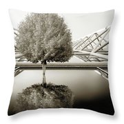 Bushy Hair Throw Pillow