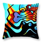 Business As Usual 1.0  Throw Pillow