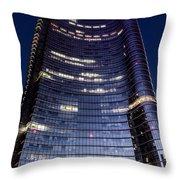 Business In Milan Throw Pillow