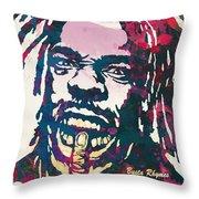 Busta Rhymes Pop Art Poster Throw Pillow