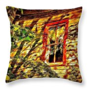 Busted Pain 2 Throw Pillow
