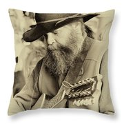Busted String Throw Pillow
