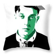 Buster Keaton Throw Pillow