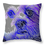 Buster Photo Throw Pillow