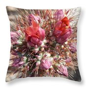 Busting Out Throw Pillow