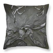 Bustle 7 Throw Pillow