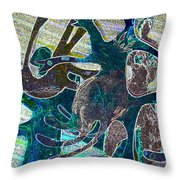 Bustle Throw Pillow
