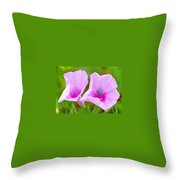 Busy Bug 2 Throw Pillow