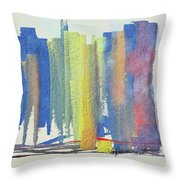 Busy Wednesday Throw Pillow