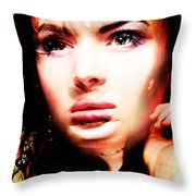 But Tracy, You Are Beautifull Throw Pillow