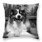 Butch Throw Pillow