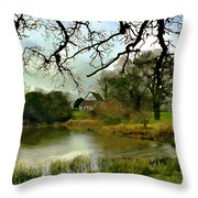 Butlers Retreat Epping Forest Uk Throw Pillow