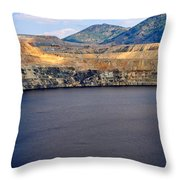 Butte Montana - Lake Berkeley Throw Pillow