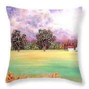 Butterfield Meadows Three Throw Pillow