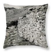 Butterfield Stage Lines Ruins Throw Pillow