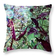 Butterflies At Night  Throw Pillow