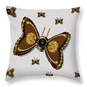 Butterflies For The Worlds  Future Throw Pillow