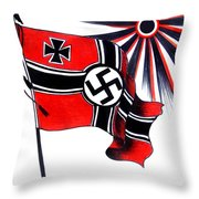 Part Of History Throw Pillow