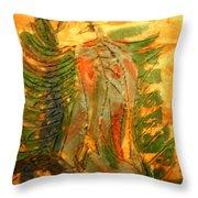 Butterfly - Tile Throw Pillow