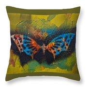 Butterfly 01 Throw Pillow