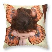 Butterfly 053 Throw Pillow
