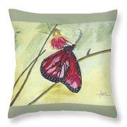 Butterfly 12 Throw Pillow