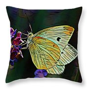Butterfly 18718 Throw Pillow