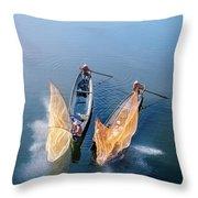Butterfly-2 Throw Pillow by Okan YILMAZ
