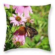 Butterfly 6 Throw Pillow